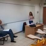 סדנה עם תלמידי מירון איזקסון