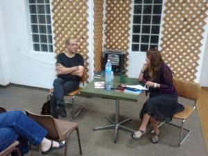 רוני סומק מתארח בסדנת כתיבה יוצרת - הרצליה ב